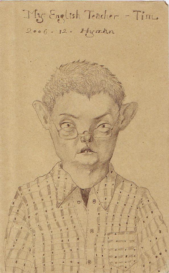 TIM 黄敏 铅笔.纸